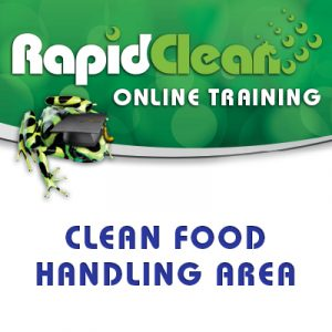 Cleaning Food Handling Area Course