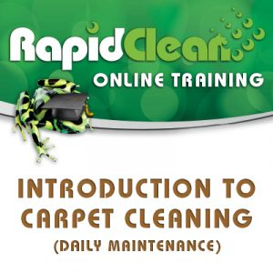 Introduction To Carpet Cleaning Course