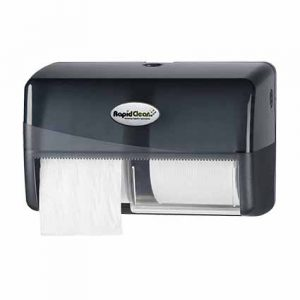 RapidClean Image Deluxe Toilet Tissue Roll Dispenser
