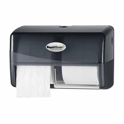 RapidClean Image Deluxe Toilet Tissue Roll Dispenser