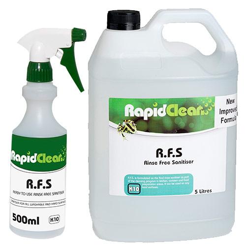 Rinse Free Sanitiser- R.F.S