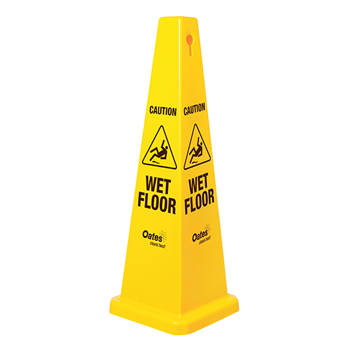 Large Caution Wet Floor Cone - 1040mm High