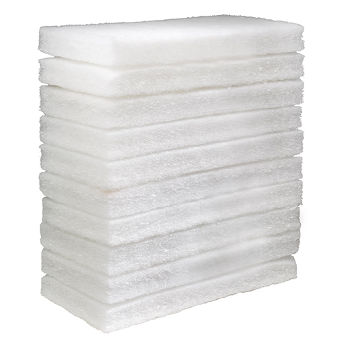 Eager Beaver White Floor Pad - 10 Pack