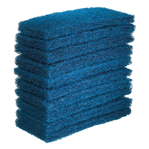 Eager Beaver Blue Floor Pad - 10 Pack
