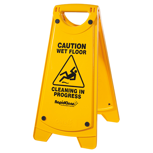 Non-Slip 'A' Frame Caution Wet Floor Sign