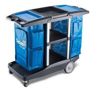 Platinum Housekeeping Cart - Dual Handle