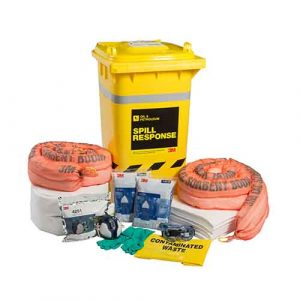3M Oil & Petroleum Sorbent Spill Kit 190L