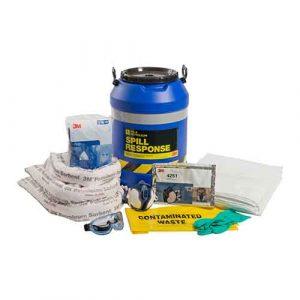 3M Oil & Petroleum Sorbent Spill Kit 45L