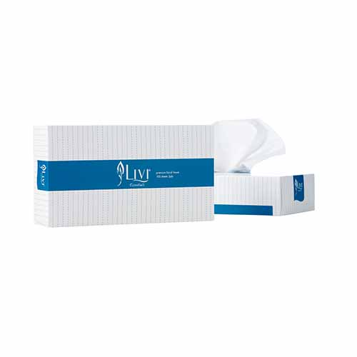Livi Essentials 100 sheet Facial Tissue