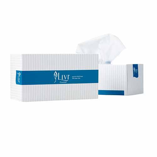 Livi Essentials 200 sheet Facial Tissue