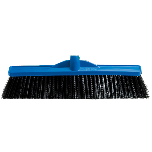 450mm Industrial Extra Stiff Poly Broom - Head Only