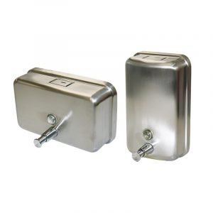 Stainless Steel Soap Dispenser (Vertical) 1.1 litre