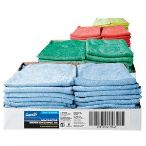 Contractor Microfibre All-Purpose Cloths - 20 Pack