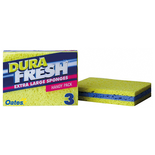 DuraFresh Extra Large Sponges - 3 Pack