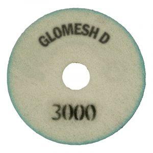 Glomesh Diamond Stone Floor Pads 3000 grit