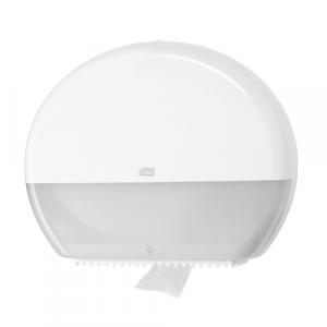 Tork Jumbo Toilet Roll Dispenser White T1