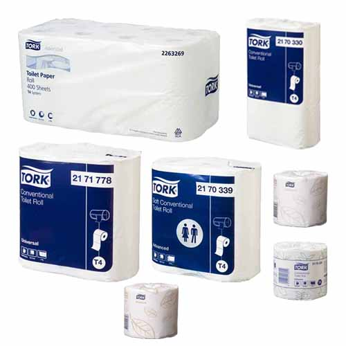 Tork Conventional Toilet Roll T4