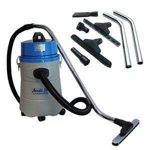 Aussie Pumps 30L wet-dry industrial vac with 40mm accessories
