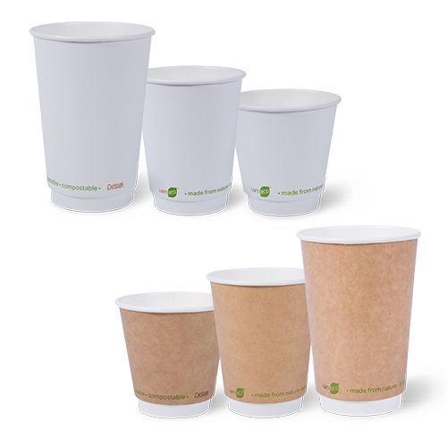 Detpak I am Eco Smooth Double Wall Hot Cups
