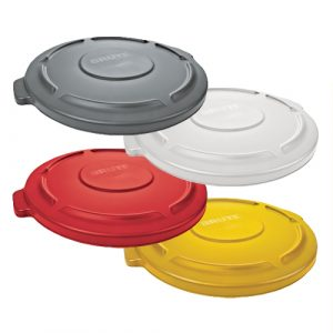 Rubbermaid BRUTE Self Draining Lids