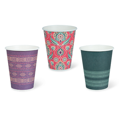 Detpak I Am Eco Coffee Origins Single Wall Hot Cups
