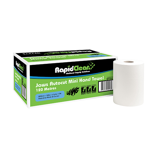 RapidClean Autocut Mini Hand Towel 120m