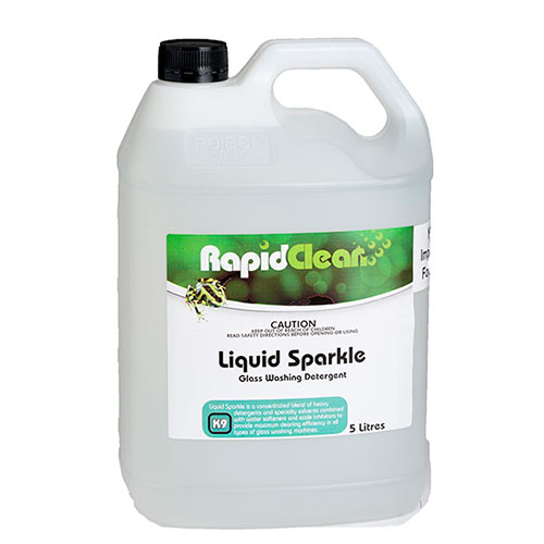 RapidClean Liquid Sparkle - Glass Washing Detergent