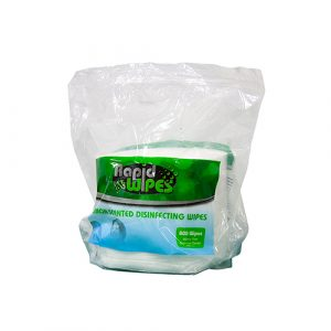 RapidClean Rapid Wipes Lemon Scented Disinfecting Wipes