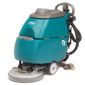 Tennant T2 Battery Walk Behind Scrubber