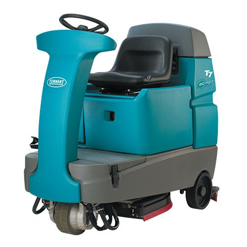 Tennant T7 Micro Ride on Floor Scrubber