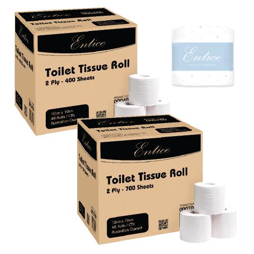Entice Toilet Tissue Rolls